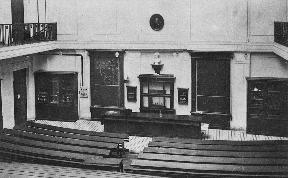 Химическая аудитория, 1910 год