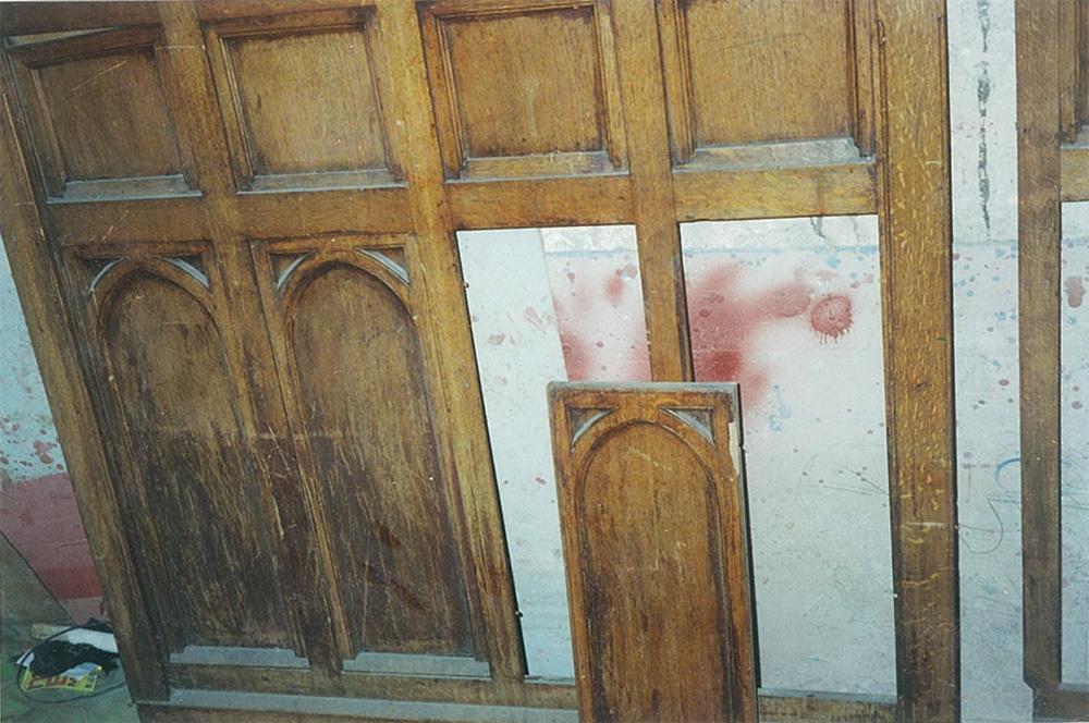 Буазери — декоративное украшение резными деревянными панелями. Кабинет