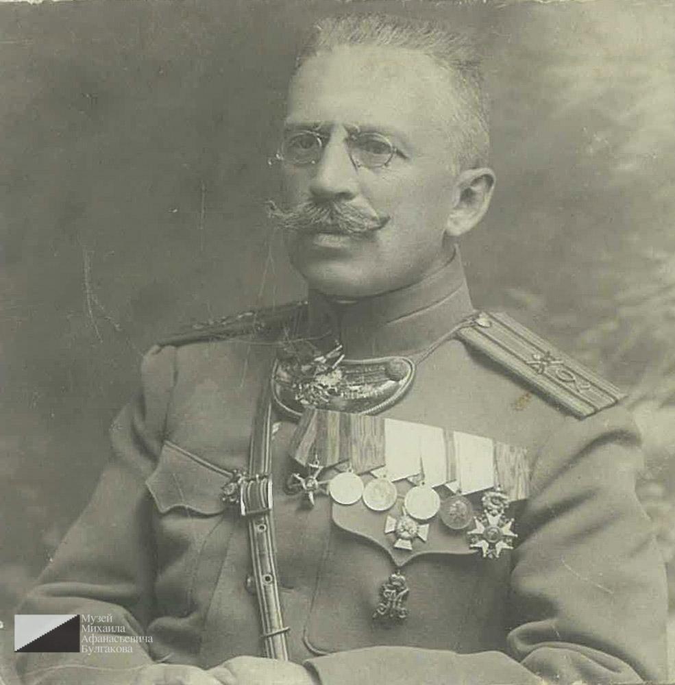 Андрей Владимирович Кисляков. 18 сентября 1910 года. Вильно. Подпись: «Дорогому сыну Николаю от горячо любящего отца».