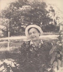 Елизавета Николаевна Федоровская. 1950-е годы. Из личного архива ее внука Александра Яковлевича Ушеренко