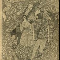 Отдельные страницы журнала «Золотое Руно» за 1908 год