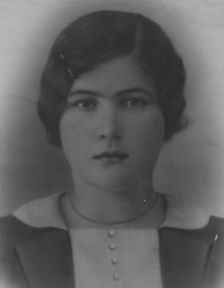 Наталья Васильевна Кузнецова, жена Ивана Макаровича Кузнецова. 1920-е годы