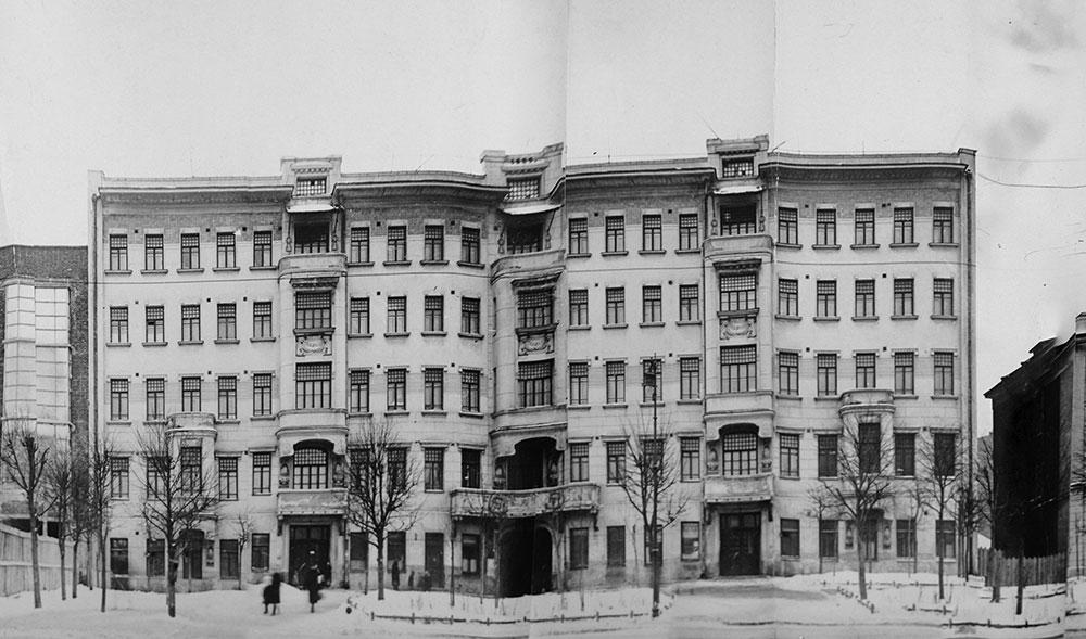 1932 год. Фрагмент развертки. Из архива Департамента культурного наследия г. Москвы