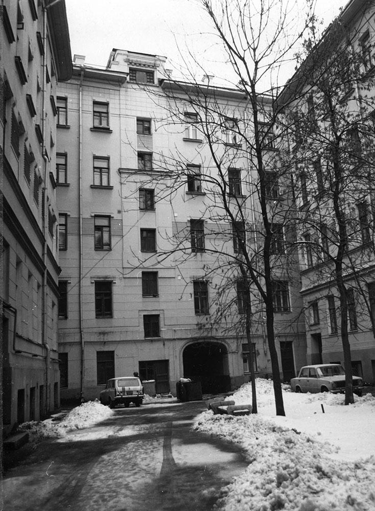1970-е годы. Из коллекции Б. Е. Пастернака