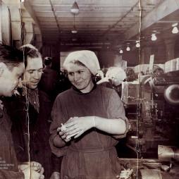 Табачная фабрика «Дукат». 1950-е годы. Из архива фабрики «Лиггетт-Дукат».