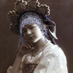 Ольга Николаевна фон Бооль. Из бювара Ольги фон Бооль