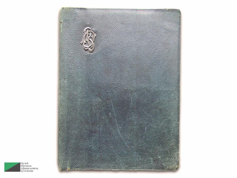Обложка бювара дочери Н.К. фон Бооля Ольги фон Бооль