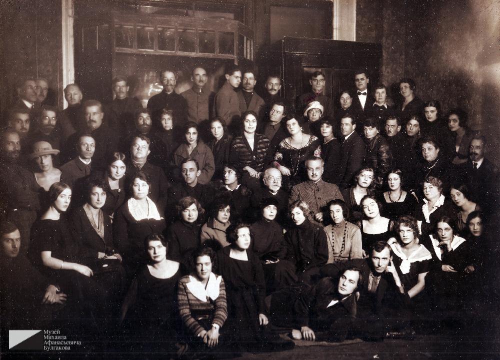 Николай фон Бооль по середине. 1920-е годы. Из архива Евгения Платоновича Иванова