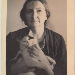 Ольга Сергеевна Логвинова. 1960-е годы. Из личного архива Е.А. Якуловой