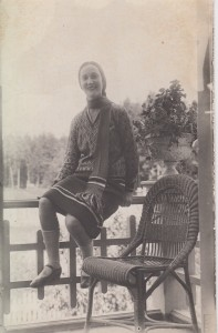 Маргарита Вильмер. 1920-е годы. Из личного архива Татьяны Бонч-Бруевич