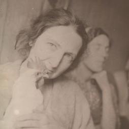 Ольга Сергеевна Логвинова. 1940-е годы. Из личного архива Е.А. Якуловой