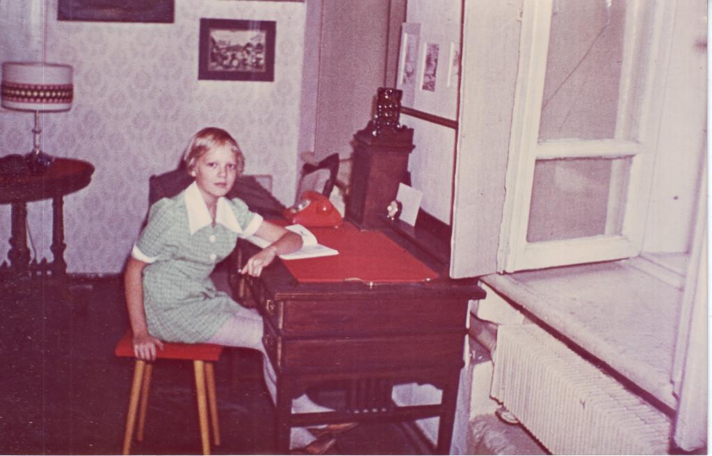Анна Кирин в квартире № 44. Из личного архива А.В. Кирин