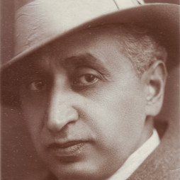 Отец Софьи Тадэ Георгий Христофорович Татевосян-Тадэ. 1920-е годы. Дар Ирены Исааковны Подольской
