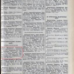 Справочник «Вся Москва», 1909 год