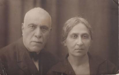 Барсег и Ашхен Аветисянц. 1930-е.